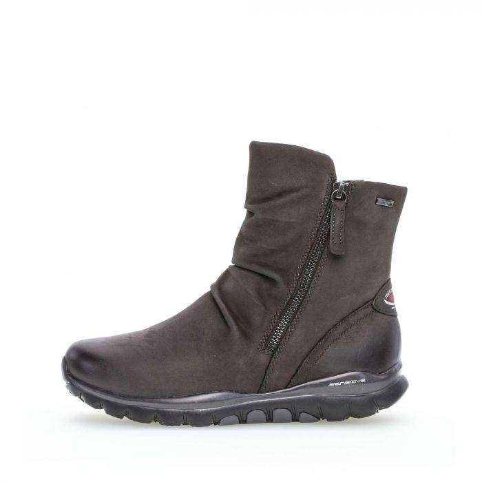 Ankle Boots Rauleder grau